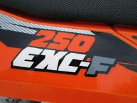 KTM 250 EXCF 2013 ENDURO ROAD REGISTERED ELECTRIC START MX MOTOCROSS BIKE