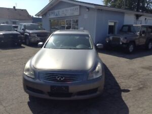 2008 INFINITI G35 Premium Pkg! Fully Certified! No Accidents!
