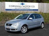 VOLKSWAGEN POLO 1.4 MATCH 5d 79 BHP MOT JUST DONE + 2 KEYS (silver) 2009