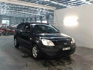 2007 Kia Rio JB EX Black 5 Speed Manual Hatchback Beresfield Newcastle Area Preview