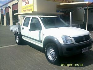 2006 Holden Rodeo RA MY06 Upgrade LX (4x4) White 5 Speed Manual Crew C/Chas Coopers Plains Brisbane South West Preview