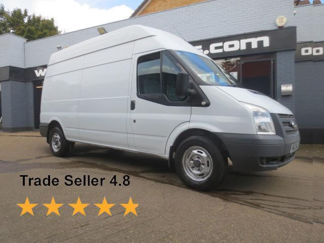 2012 Ford Transit T350 2.2TDCi 125ps LWB High Roof *E/W*Stop/Start* Diesel white
