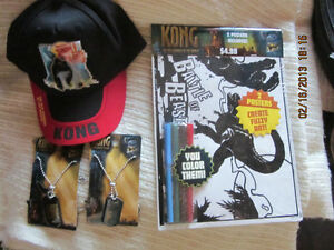 BRAND NEW Collectible King Kong items
