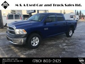 2016 Dodge Ram 1500 ST 4X4, CREWCAB - Financing Available -