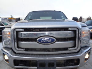 2011 FORD SD F-250 XLT-4X4-6.2L V8-ONE OWNER-NO ACCIDENT-R/START