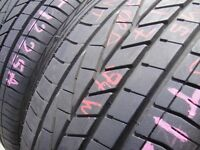 225/45/17 Goodyear Excellence x2 A Pair, 6.4mm (454 Barking Rd, Plaistow, E13 8HJ) Partly Worn Tyres