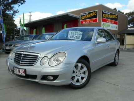 2006 Mercedes-Benz E200 Kompressor W211 MY06 Classic Silver 5 Speed Tiptronic Sedan Archerfield Brisbane South West Preview