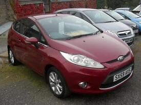 Ford Fiesta 1.25 ( 82ps ) 2009MY Zetec NEW MODEL 33550Mls 5 Service Stamps Alloy