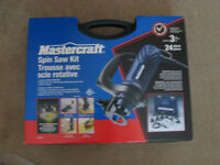 New Mastercraft Spin Saw Kit. Never used! MINT Condition!