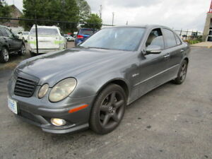 2007 AMG E550 MERCEDES 4MATIC