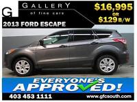 2013 FORD ESCAPE *EVERYONE APPROVED* $0 DOWN $129/BW!