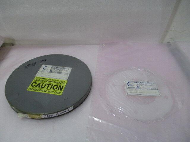 AMAT 0200-00014, Cover, Quartz, 100mm, XTAL. 417350