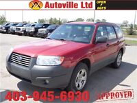 2006 Subaru Forester 2.5X low km automatic $9988