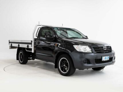 2012 Toyota Hilux TGN16R MY12 Workmate Ink 5 Speed Manual Cab Chassis Devonport Devonport Area Preview