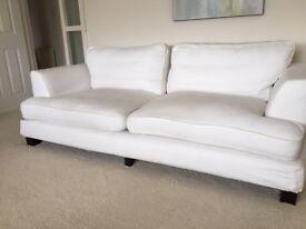 Sofas and Stuff Haworth 3.5 Seat Sofa, Romo Linara Removable Covers