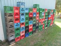deliver 56 milk crates anytime Smithville to S. Etobicoke EZ $60