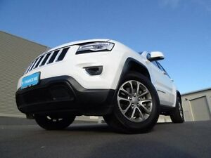 2016 Jeep Grand Cherokee WK MY15 Laredo 4x2 White 8 Speed Sports Automatic Wagon Mount Barker Mount Barker Area Preview