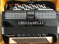 Accordion - Crucianelli 5 row button Accordion
