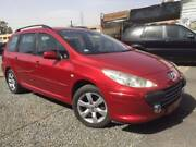 2007 Peugeot 307 RED MANUAL 6 SPEED WAGON Nerang Gold Coast West Preview
