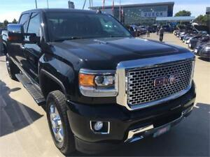 2016 GMC SIERRA DENALI 3500 HD Long box black on black duramax