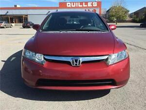 2007 Honda Berline Civic LX WOW 125800 CERTIFIED MILEAGE WOW