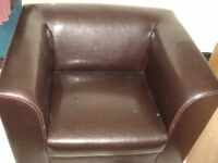 Bankers Chair - Comfortable leather chair