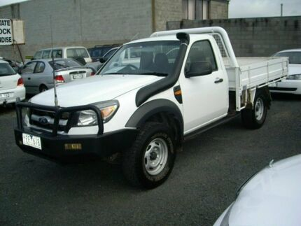 2011 Ford Ranger  White 5 Speed Single Cab Korumburra South Gippsland Preview