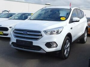 2017 Ford Escape ZG Trend PwrShift AWD White 6 Speed Sports Automatic Dual Clutch Wagon Albion Park Rail Shellharbour Area Preview