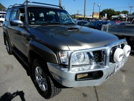 2005 Nissan Patrol GU IV MY05 ST Gold 4 Speed Automatic Wagon Enfield Port Adelaide Area Preview