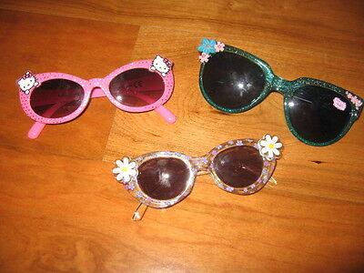 3 Sonnenbrillen für Mädchen, 6-8 Jahre