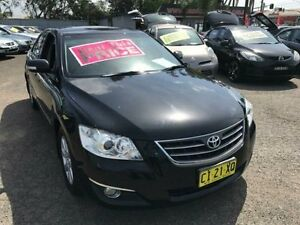 2006 Toyota Aurion GSV40R Prodigy Black 6 Speed Sequential Auto Sedan Lansvale Liverpool Area Preview