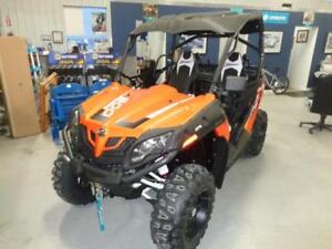 2018 CFMOTO ZFORCE 800 TRAIL WITH ROOF $13954 PLUS FREIGHT & PDI