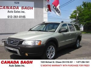 2006 Volvo XC70 CROSS COUNTRY 152km AWD LOADED, 12M.WRTY+SAFETY