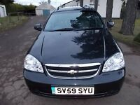 CHEVROLET LACETTI 1.6 SX ESTATE CAR 59 REG MOT MARCH 2017