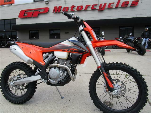 Picture of A 2020 KTM 350 XCF-W