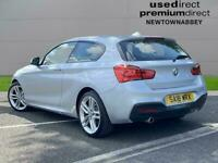 2018 BMW 1 Series 118D M Sport 5Dr [Nav/Servotronic] Hatchback Diesel Automatic