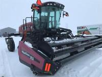 Macdon M155 Windrower and A40-D 18ft Hay Header Brandon Brandon Area Preview