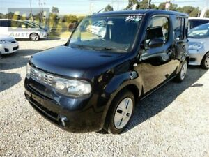 2012 Nissan Cube Z12 Highway Star Black Constant Variable Wagon Moorabbin Kingston Area Preview