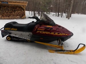 1999 Skidoo Formula 380 Fan Cooled Deluxe (DLX)