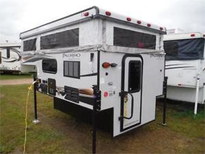 2018 Palomino Backpack SS1200 8' pop up Truck Camper