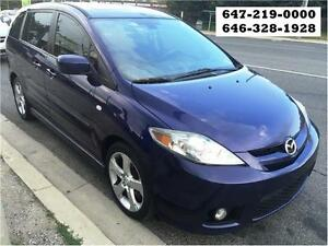 2007 Mazda Mazda5 GT SUNROOF 6SEAT 100%APPROVED FINANCE WARRANTY