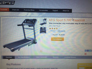 Brand New AFG Sport 5.7AT Treadmill ***LOW LOW PRICE ***