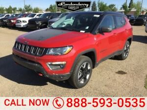 2018 Jeep Compass 4X4 TRAILHAWK               Leather Interior