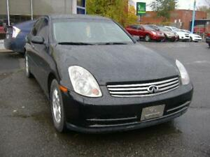 2004 INFINITI Berline G35 Luxury