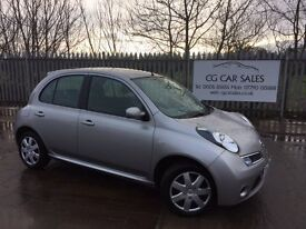 Nissan Micra 1.2 ACENTA 5d. MOT 09 Sept 2017. Only 54K miles. EXCELLENT CONDITION INSIDE AND OUT
