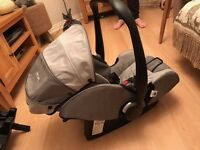 Recaro Young Profi Plus Baby Seat and Isofix Base