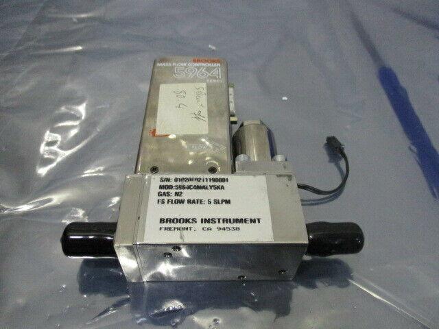 Brooks 5964, Mass Flow Controller, 5964C4MALY5KA, N2 5 SLPM, 421694