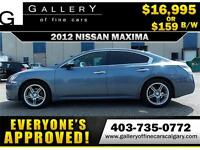 2012 Nissan Maxima SV $159 bi-weekly APPLY NOW DRIVE NOW