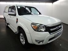 2011 Ford Ranger PK XLT HI-Rider (4x2) White 5 Speed Automatic Dual Cab Pick-up Albion Brimbank Area Preview