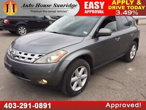 2005 NISSAN MURANO SE LEATHER SUNROOF